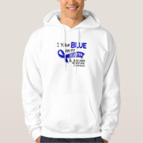 I Wear Blue Daughter 42 Ankylosing Spondylitis Hoodie
