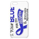 I Wear Blue Daughter 42 Ankylosing Spondylitis iPhone 5C Cover