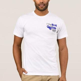I Wear Blue Daughter 42 Ankylosing Spondylitis T-Shirt