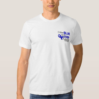 I Wear Blue Daughter 42 Ankylosing Spondylitis Tee Shirt