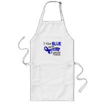 I Wear Blue Daughter-In-Law 42 Ankylosing Spondyli Long Apron