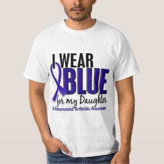 I Wear Blue Daughter Rheumatoid Arthritis RA Shirt