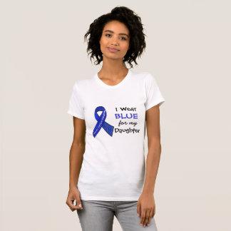 I Wear Blue e for my Daughter CFS Shirt