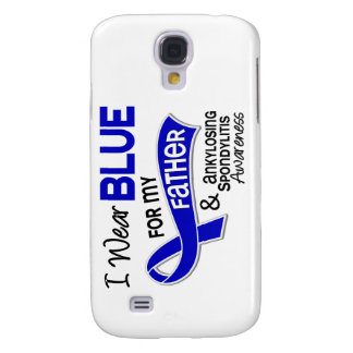 I Wear Blue Father 42 Ankylosing Spondylitis Galaxy S4 Case