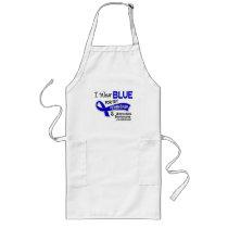 I Wear Blue Father-In-Law 42 Ankylosing Spondyliti Long Apron