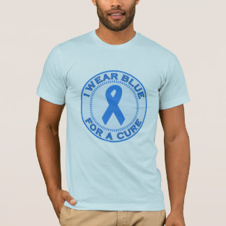 I Wear Blue For A Cure T-Shirt