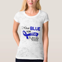 I Wear Blue For Me 42 Ankylosing Spondylitis AS T-Shirt