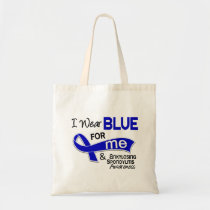 I Wear Blue For Me 42 Ankylosing Spondylitis AS Tote Bag