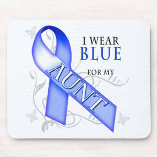 I Wear Blue for my Aunt Mouse Pad