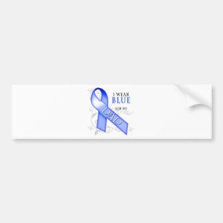 I Wear Blue for my Dad Bumper Stickers