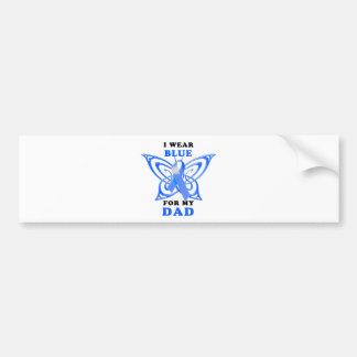 I Wear Blue for my Dad Bumper Sticker