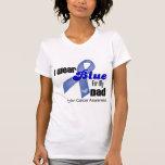 I Wear Blue For My Dad Colon Cancer Tshirts