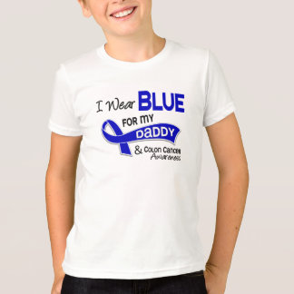 I Wear Blue For My Daddy 42 Colon Cancer T-Shirt
