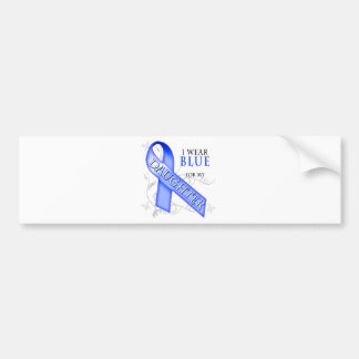 I Wear Blue for my Daughter Bumper Sticker