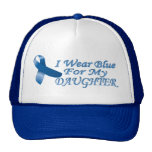 I wear blue for my Daughter Mesh Hat