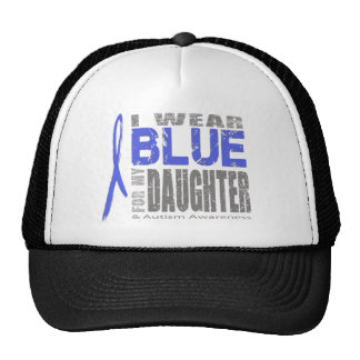 I wear blue for my daughter trucker hat
