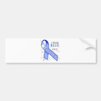 I Wear Blue for my Father Bumper Sticker