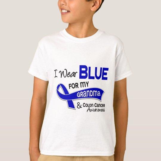 I Wear Blue For My Grandma 42 Colon Cancer T-Shirt