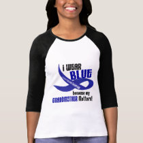 I Wear Blue For My Grandmother 33 COLON CANCER T-Shirt