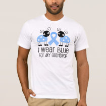 I Wear Blue For My Grandpop (Ladybug) T-Shirt