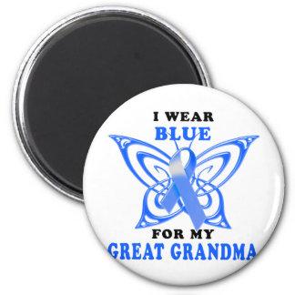 I Wear Blue for my Great Grandma Magnet