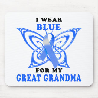I Wear Blue for my Great Grandma Mouse Pad