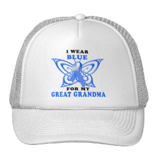 I Wear Blue for my Great Grandma Trucker Hat