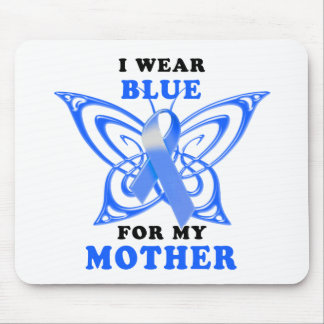 I Wear Blue for my Mother Mouse Pad