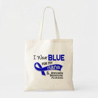 I Wear Blue For My Nana 42 Ankylosing Spondylitis Tote Bag