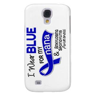 I Wear Blue For My Nana 42 Ankylosing Spondylitis Galaxy S4 Cases