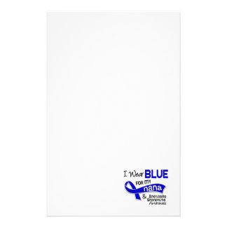 I Wear Blue For My Nana 42 Ankylosing Spondylitis Customized Stationery