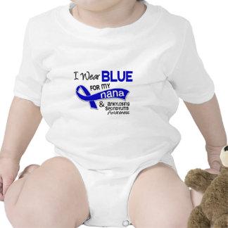 I Wear Blue For My Nana 42 Ankylosing Spondylitis Tee Shirt