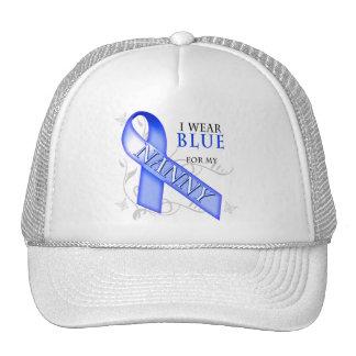 I Wear Blue for my Nanny Trucker Hat