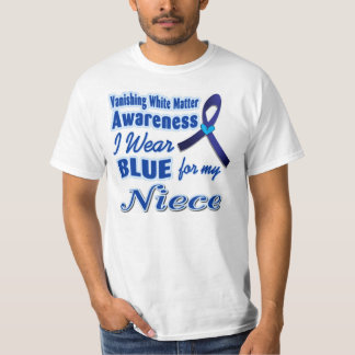 I wear BLUE for my Niece T-Shirt