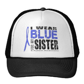 I wear blue for my sister hats