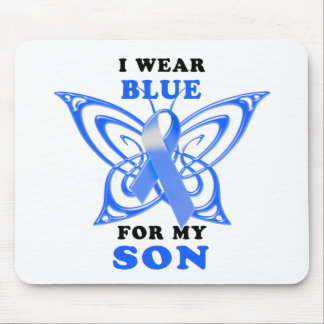 I Wear Blue for my Son Mouse Pad