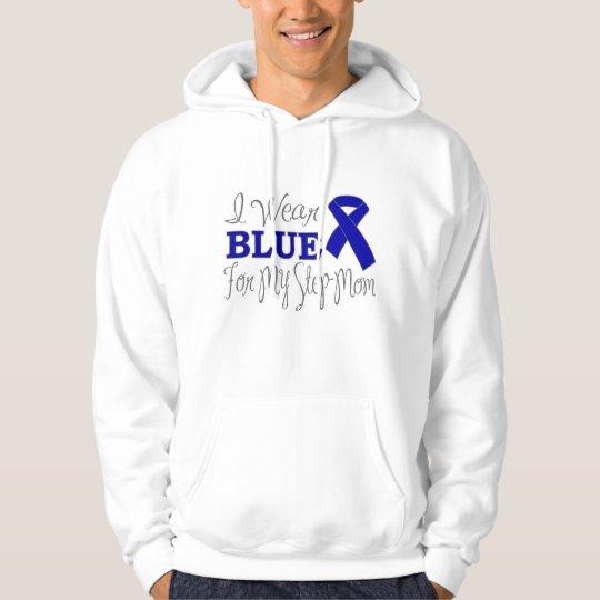 I Wear Blue For My Step-Mom (Blue Ribbon) Hoodie