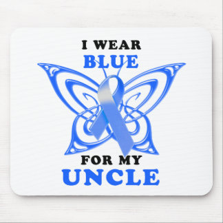 I Wear Blue for my Uncle Mouse Pad