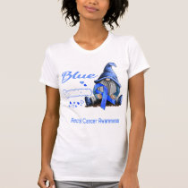 I Wear Blue For Someone Rectal Cancer Awareness T-Shirt