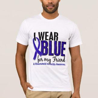 I Wear Blue Friend Rheumatoid Arthritis RA T-Shirt