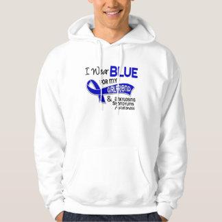 I Wear Blue Girlfriend 42 Ankylosing Spondylitis Pullover