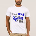 I Wear Blue Girlfriend 42 Ankylosing Spondylitis T-Shirt