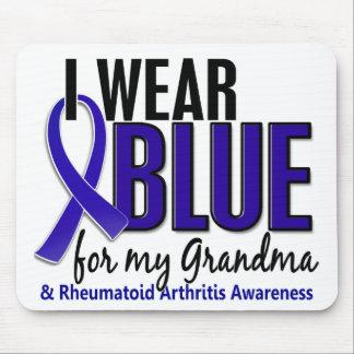 I Wear Blue Grandma Rheumatoid Arthritis RA Mouse Pad