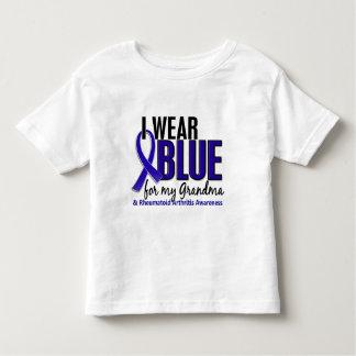 I Wear Blue Grandma Rheumatoid Arthritis RA T Shirt
