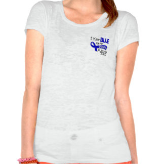 I Wear Blue Grandpa 42 Ankylosing Spondylitis Tshirts