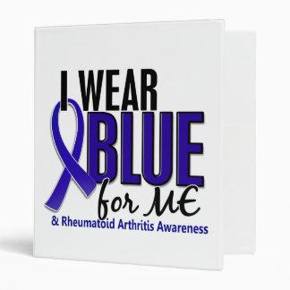 I Wear Blue Me Rheumatoid Arthritis RA 3 Ring Binders