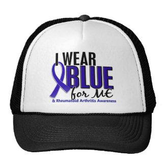 I Wear Blue Me Rheumatoid Arthritis RA Mesh Hats