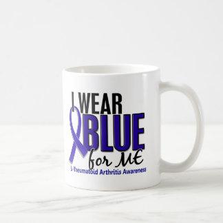 I Wear Blue Me Rheumatoid Arthritis RA Classic White Coffee Mug