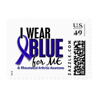 I Wear Blue Me Rheumatoid Arthritis RA Stamps