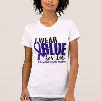 I Wear Blue Me Rheumatoid Arthritis RA Shirt